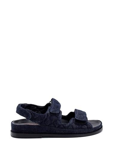 Derimod Kadın Sandalet (09701) Casual Mavi